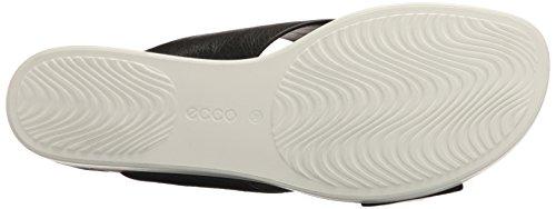 ECCO - Ecco Touch Sandal Plateau, Sandali Donna Schwarz (11001BLACK)