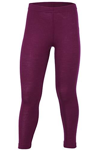 Engel, Legging, Lange Unterhose, Wolle Seide, Grösse 92-176, 5 Farben (128, Orchidee)