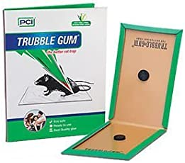 PCI Cardboard Troublegum Mouse Trap | Catch Mouse/Rat Glue Traps, 5pc Mouse Insect Rodent Lizard Trap Rat Catcher Adhesive Sticky Glue Pad |