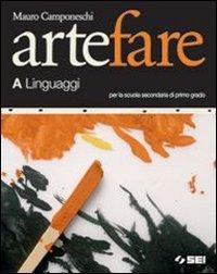 Arte fare. Volume A: Linguaggi-Storia. Modulo B1-Laboratorio-Portfolio. Per la Scuola media