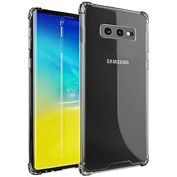 amCase Coque Etui Galaxy S10e, Gel TPU Souple (Anti-Choc