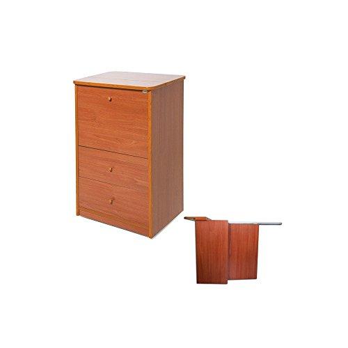 Mobile in legno colore ciliegio cassettiera con 7 cassetti Cm 111x46x42