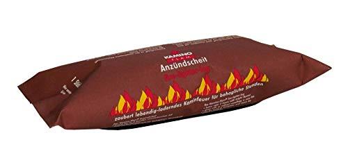 30 Stück KaminoFlam® - Kaminfeuer Andzündscheit, Dauerbrenner Kaminfeuerscheit, Kaminofen Brennstoff, Kachelofen, Holzofen Befeuerung