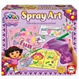 Educa Borrás 14763 - Spray Art Dora La Exploradora