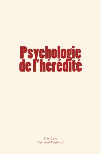 Psychologie de l'hérédité