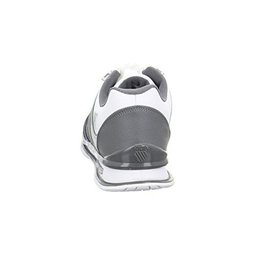 K-SwissRINZLER SP - Scarpe da Ginnastica Basse Uomo Bianco (White/gray Gradient)