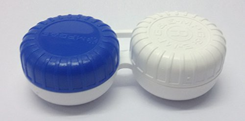 Kontaktlinsenbehälter ECCO case F Standard flach für weiche und harte Kontaktlinsen