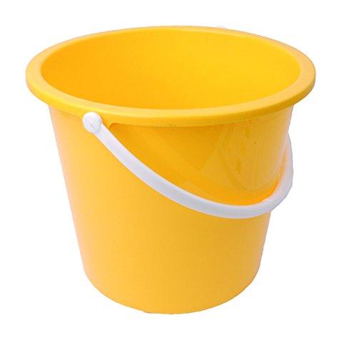 Robert Scott cics045Haushalt Eimer, rund, Kunststoff, 10l, gelb