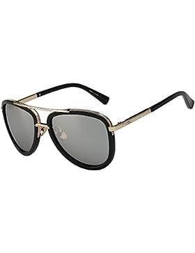 TIANLIANG04 Gafas de sol Hombre Mujer Retro estilo Vintage gafas de sol del verano de la forma clásica de alta...