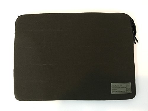 Hex hx1778 - OLVE 27,9 cm Legion Collection Sleeve für 27,9 cm MacBook Air, Olive Leinwand (Hex-hülle 15)