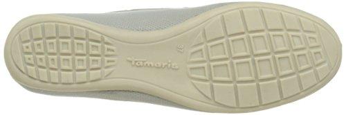 Tamaris24607 - Mocassini Donna Grigio (PEPPER 324)