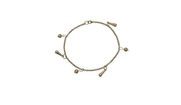 YASHILA Gold Plated Ankle Chain