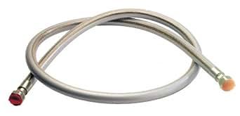 Tuyau flexible inox gaz naturel Vissogaz - Durée illimitée - 2 mètres