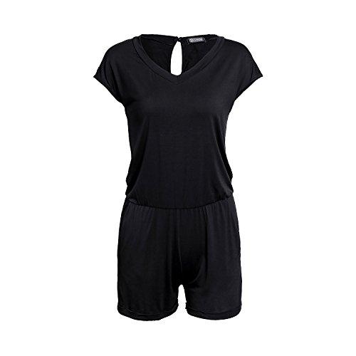 SUNNOW® Elegant Damen Jumpsuit Playsuit Casual - 2