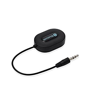 Patuoxun. 3,5 mm AUX Bluetooth 3.0 Musik Adapter ¨¹ Auto Audio Empfdnger ¨¹ Bluetooth Auto Lautsprecher ¨¹ Freisprechen f¨¹r iPhone SE 6 6 PLUS 5S 5C 5 4S, iPad 3 4 5 Air Mini Android Smartphones, Tablet PC (Schwarz) (B00M1MY4HA) | Amazon price tracker / tracking, Amazon price history charts, Amazon price watches, Amazon price drop alerts