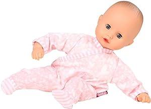 Götz 1620518Muffin Summer Time muñeca-Tiempo de Verano-33cm Grandes Baby muñeca con Ojos Azules Dormitorio, sin Pelo y Suave Cuerpo-A Partir de 18Meses