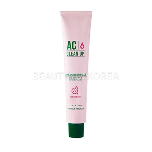 Etude House AC Clean Up Pink Powder Mask 100ml / Beautynet Korea -