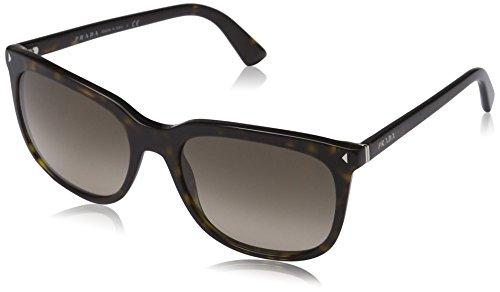 Prada Damen Sonnenbrille Journal PR12RS, Gr. One size (Herstellergröße: 56), Braun (Havana 2AU3D0)