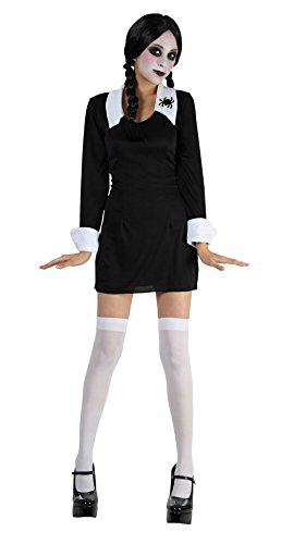 Creepy Schoolgirl (S) costume Kids Fancy Dress