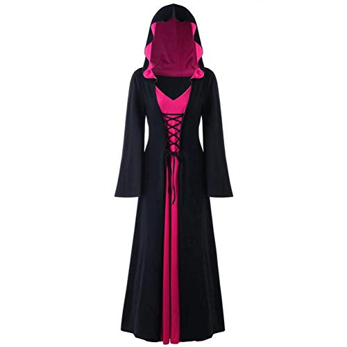 Plus Size Damen Clown Kostüm - ERFD&GRF Plus Size Damen Halloween Kapuze