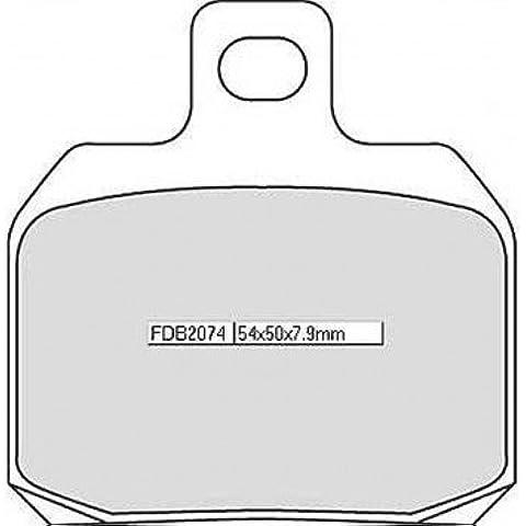 Ferodo–Pastiglie Freno rivestimento sinterizzato FDB 2074St