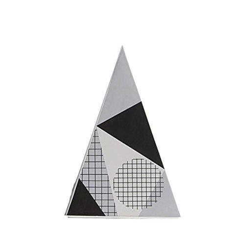 SUNGL Ornament Schreibtisch Keramik Geometrie Dreieck Vase Moderne Unterhaltsame Dekor Skulptur Couchtisch Home Office