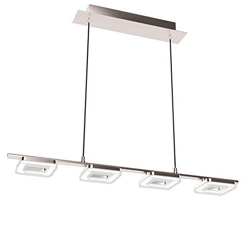 Design LED Decken Pendel Hänge Leuchte Nickel-matt Beleuchtung EGLO 32033