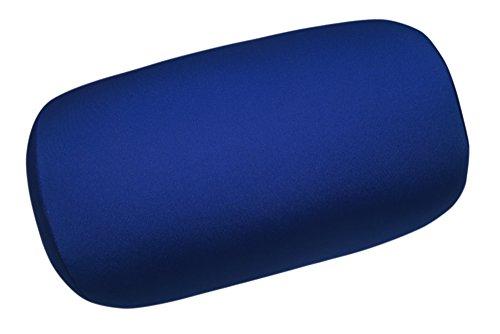 Nackenrolle in tollen Farben Travel Reisekissen ca. 30x15 cm Füllung Micropellets Micro-Granulat Kissen in Royal Blau