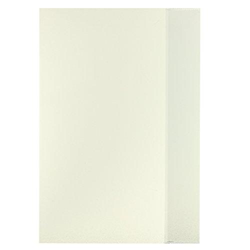 10 Herlitz Heftumschläge / Hefthüllen DIN A4 / Farbe: transparent klar