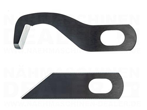 Overlockmesser passend für Gritzner 788 Overlock, Dorina 710, New Life 1151 K, Texi Pierrot, Brother 400DE, Silver 720D, Lewestein 700, Lewestein 700DE, Carina Top-Lock DF -