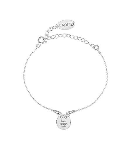 ARLIZI Damen Armband Charme aus 925 Sterling Silber 1449