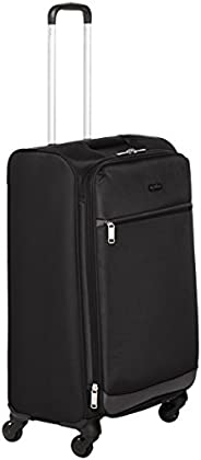 AmazonBasics 74 cm Black Softsided Check-in Trolley