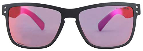 Basta GREATY Polarized Sonnenbrille Black Matte/Purple red Mirror