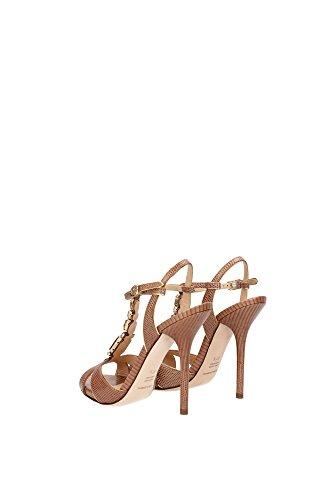 56354 Dolce & Gabbana Sandale D & G Sale Réductions Femme Chaussures Chaussures Femme Tortora
