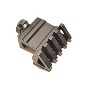 AcidTactical® 45 Degree Offset Angled Mount Picatinny Weaver 4 SLOT