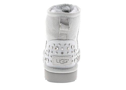 UGG Australia Mini Studded Bling, Stivali da Neve Donna Grey
