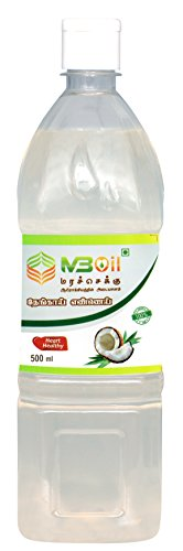 ISO 22000 and AGMARK M3 Cold Pressed Virgin Pure Marachekku (மரசெக்கு) Coconut Oil (500 ML)  available at amazon for Rs.165