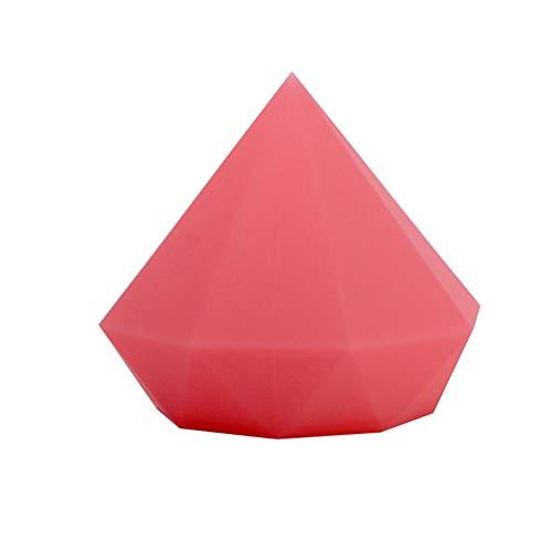 GYYlucky Kreative Kindertagesgeschenk Bunte Diamant Silikon Nachtlicht Schlafzimmer Lampe USB Lade Pat Licht Led Licht (Color : Red) Red Pat 4
