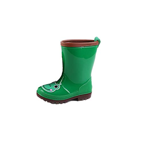 Kids Wellies Unisex,Children Cartoon Animals Waterproof Rainboots Rain Shoes for Kids Boys Girls