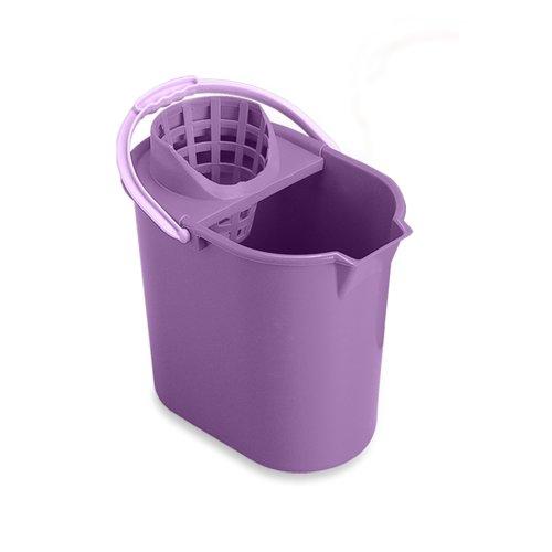 Foto de Mery 0312.09 - Cubo de fregar y escurridor, 12 l, color lila