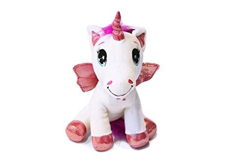 unicorno-il-magico-mondo-di-unicorni-le-monde-magique-des-licornes-25cm-buona-qualita-colore-bianco