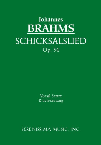 Schicksalslied op 54 vocal score german edition ebook schicksalslied op 54 vocal score german edition by brahms fandeluxe Image collections