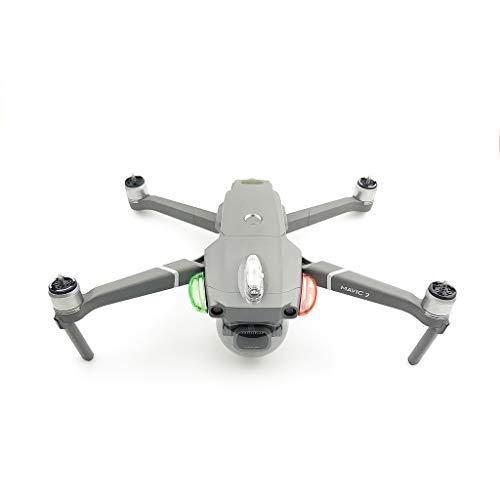 QHJ LED Blitz Strobe Beleuchtung Nacht Flug Für DJI Mavic 2 Pro Drone (Rot+Grün+Weiß)