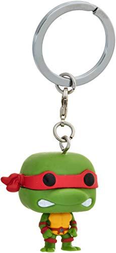 Funko 4575 Teenage Mutant Ninja Turtles Schlüsselanhänger Figur TMNT: Raphael