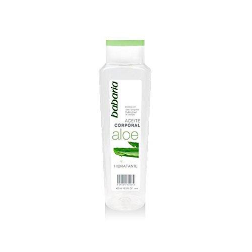 Babaria Natural - Körperöl mit Aloe, 400 ml