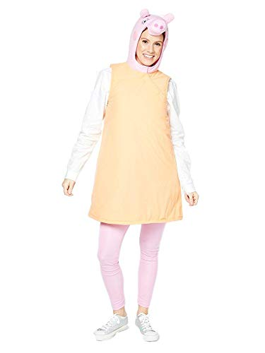 Fancy me ladies adult mummy pig peppa pig giornata mondiale del libro wold ricorrenze tv cartoon costume travestimento