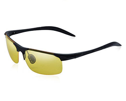 Yidarton Herren Ultra Leicht Sportbrille Polarisierte Sonnenbrille Fahrerbrille