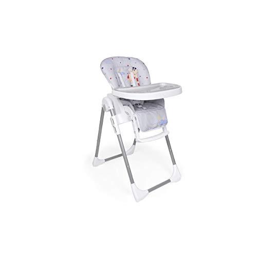 Trona Jirafa Plegable para bebés de 6 a 36 meses - Ultraligera - Regulable en 6 alturas