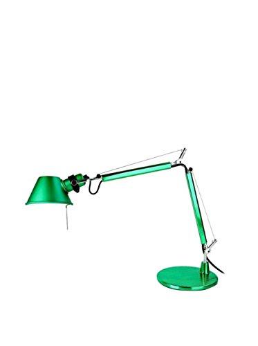 Artemide Tolomeo Micro Lampe de Table avec Base Verte