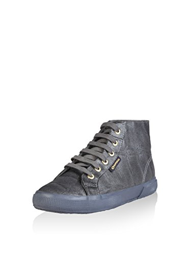 Superga , Chaussures en forme de bottines femme Bleu